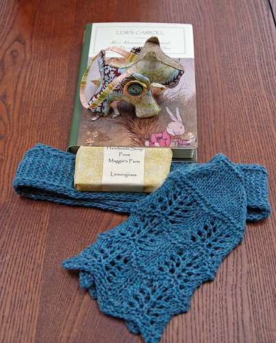 Lace Scarf and goodies