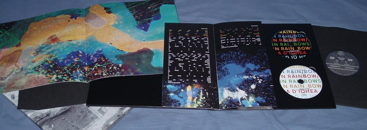 In Rainbows discbox packaging