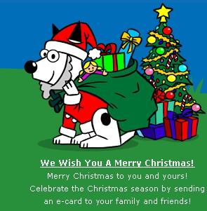 Dogpile Christmas Theme