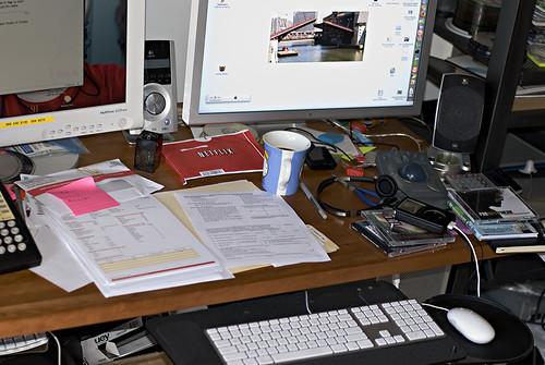 Desk - December 2007
