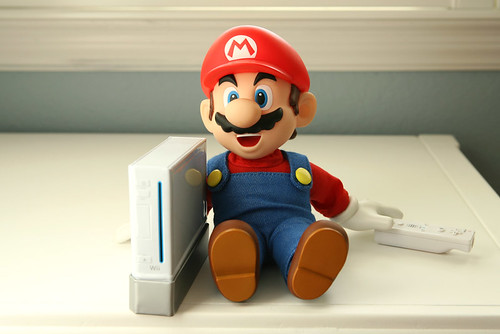 What Mario Got For Xmas... / Bryan Chang
