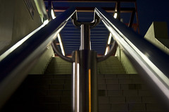 Going up (opterios) Tags: station stairs train wow subway metro athens stairway  patissia    diamondclassphotographer flickrdiamond