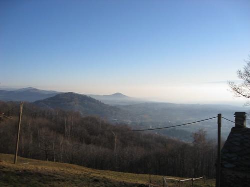La collina della Burcina