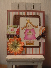 Magnolia princess card