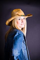Jeansjackor för cowgirls