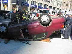 Car Accident - OOPS! - 5 (buff_wannabe) Tags: accident nypd oops fdny caraccident flashinglights carstop nypdesu