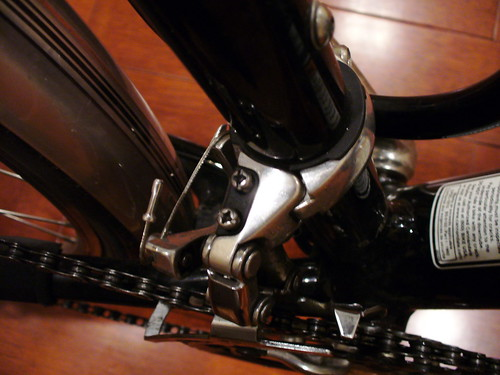 New Handlebars - Front Derailleur Detail