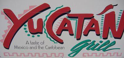 Yucatan Grill - Sign
