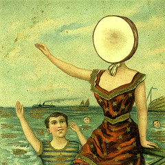 In the Aeroplane Over the Sea (1998). Neutral Milk Hotel (Hji) Tags: sea art rock hotel milk post surrealism album over aeroplane card cover indie postal portada neutral cartula