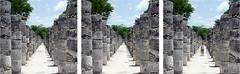 Cucu, Dnde t?... Ac t! (Mariano77) Tags: people mexico persona gente jose sombrero mariano vacaciones fila piedras itza columna fortuny pasaje chiche hilera