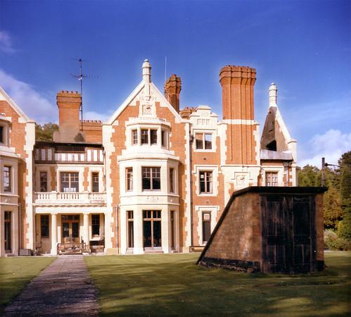 Wood Norton Hall, Evesham, Worcestershire, 1984