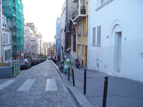 Construction on Montmatre
