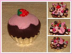 Felt Cupcake Pin Cushion (yifatiii) Tags: ceramica ice cake studio mom miniature pc strawberry cookie sweet handmade embroidery chocolate oneofakind sewing mother cream sew felt pins polymerclay fimo biscuit cupcake clay icecream doughnut croissant pincushion etsy oreo sell porcelain topper tapestry kato felts fria chocolatechipcookie porcelana jellyroll plastica premo polyclay arcilla ceramicaplastica pastesintetiche coldporcelain polimerica prosculpt arcillapolimerica arcillaspolimericas arcillaspolimricas porcelanaenfro yifatiii porcelanaenfrio