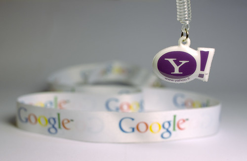 Yahoo and Google