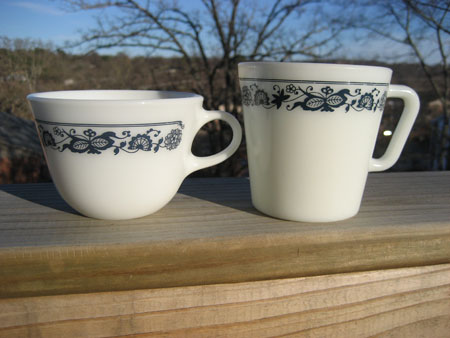 Pyrex Old Town Mugs