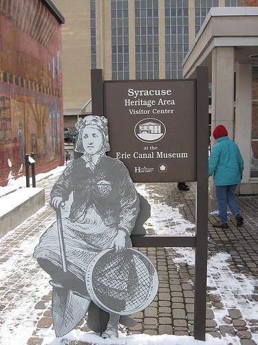 Erie Museum Entrance
