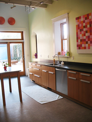 Kitchen- South View,house, interior, interior design