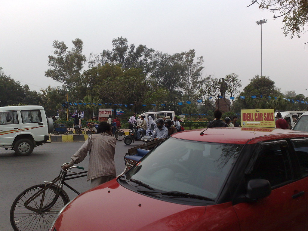 Circular Intersection and the Maruti Suzuki Swift