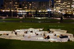 _MG_1936.jpg (alimander) Tags: art public war artist victim iraq protest sydney australia civil nsw vigil civilian mca deaths deathtoll perang boaties boatpeopleartperformanceiraq