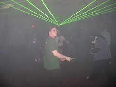 Green Reaper at the rave