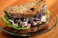 chicken salad sandwich (scottish cow) Tags: food chicken bread recipe sandwich chickensalad