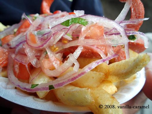 Hotdog & fries Ecuadorian-style (#2)