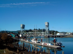 Hoquiam (jc.winkler) Tags: bridge boats washington hoquiam