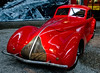Red (Ramon2002) Tags: red france sports car 1936 vintage italian alfaromeo mulhouse automobilemuseum 8cylinder museenationaldelautomobile colorphotoaward ramon2002 2904cc