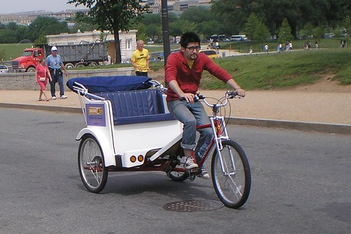 rickshaw in DC