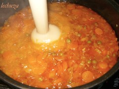Albóndigas en salsa-batidora--