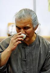 800-year old Puerh Tea (Jeremy & Chanel's Photography) Tags: china nikon tea drink chinese master zen puerh puerhtea d90 nikond90