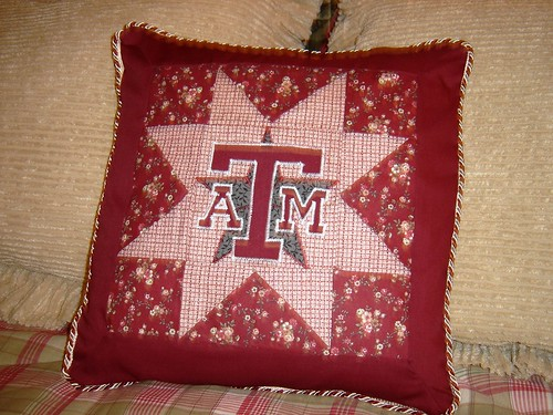 Aggie Pillow