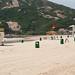 A beach in Sek O, Hong Kong