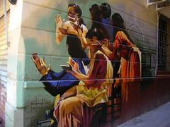 Colores de flamenco en Granada (In viaggo col cecchi) Tags: street city art wall painting calle dance ballerina mural hand main ciudad mani manos dancer andalucia granada beat grenade rue murales barrio baile flamenco ville flamengo pintura spagna ballo ritmo bailarinas dipinto albacin espaa albacyn paintre flamenque