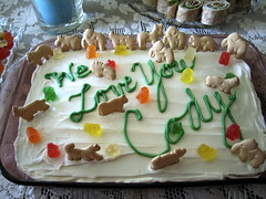 We Love You Cody (amanky) Tags: food usa cute love cookies animals cake oregon you gummibears we cody babyshower hoodriver frosting 2007 cakedecorations spicecake animalcrackers nagreen animalcookies october14 october2007 october142007 weloveyoucody