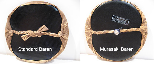 Comparison of Standard and Murasaki Barens - Backs