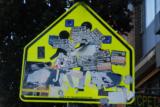 Say What--Dont Walk Stickered