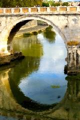 Footbridge Arch (moedonno) Tags: rome bill rizzo