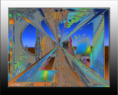 inw 20a5001 rolling (Kateri Starczewski) Tags: blue orange desert earth abstractart contemporaryart steel horizon digitalart perspective textures nightsky dg rivet desertsky dawnsky customhomedecor desertterrain custombusinessdecorinwonderartistinw20a5001digitalframe