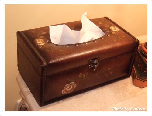 客廳的衛生紙套