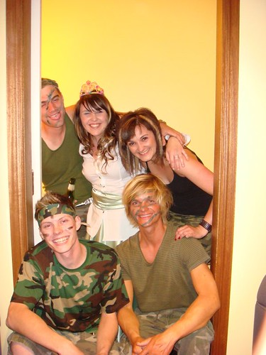Commando & Princess Party in the Barossa Valley.