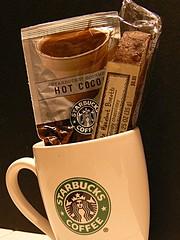Mug Shot (Domesticated Diva) Tags: coffee starbucks mug mugshot cocoa picnik supershot biscoti supershots