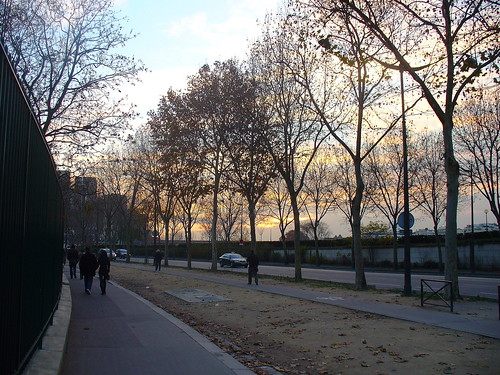 Close to La Seine