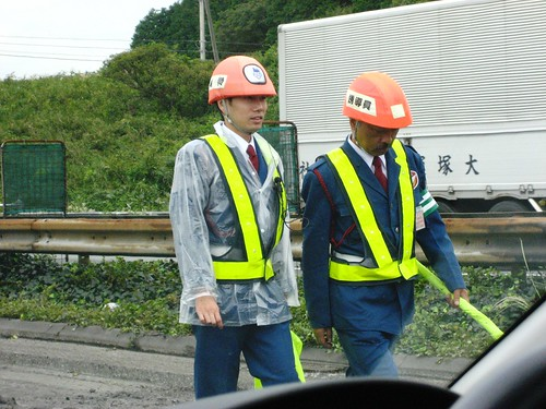 Construction Work in a Suit