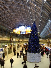 st pancras christmas tree