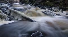 Winter waterfall 2 (d.lindholm) Tags: longexposure winter ice water flow waterfall europe sweden uppsala scandinavia nikon18200mm kvarnbo nikond40x