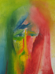 The Face of Jesus. 2003 by Stephen B Whatley (Stephen B Whatley) Tags: portrait eye art face painting artist christ god faith prayer jesus icon christian holy worldwide expressionism universal tenderness oilpainting jesuschrist divinemercy faceofjesus colourartaward feastdayofthedivinemercy stephenbwhatley