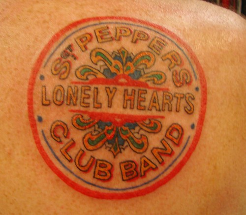beatles tattoo. eatles tattoo