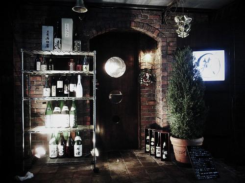 酒蔵への入口