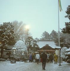 (sabamiso) Tags: snow   kodakportra400nc meoptaflexaretvi